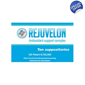 Rejuvelon Suppository Catalyse and SOD..