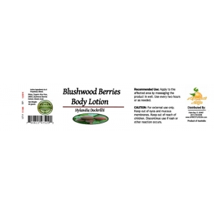 Blushwood Body Lotion 60 grams