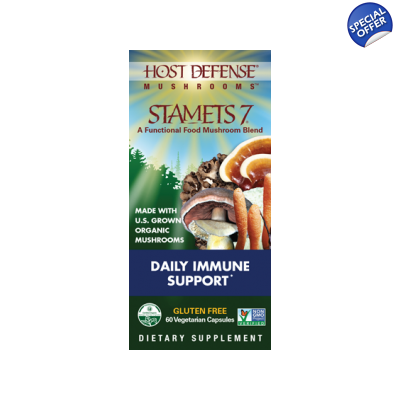 Host Defense Stamets 7 120 Ct Fungi Perfecti title=
