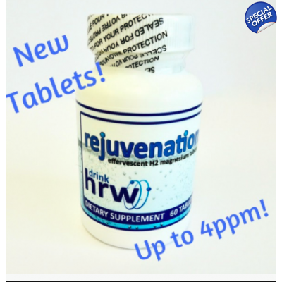 Rejuvenation Hydrogen Rich Water Tablets 4 PPM title=