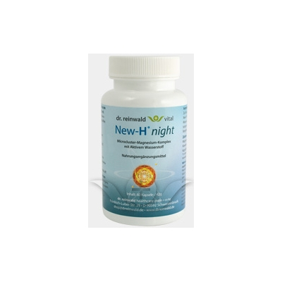New-H Night Dr Reinwald Natural Rhythm - Calming Magnesium - 60caps title=