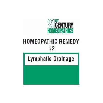 21st Century HomeoPathics–Remedy 2 Lymphatic Drainage title=
