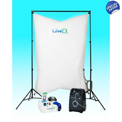LiveO2 Home Training System With 5 LPM Oxygen Generator - EWOT title=