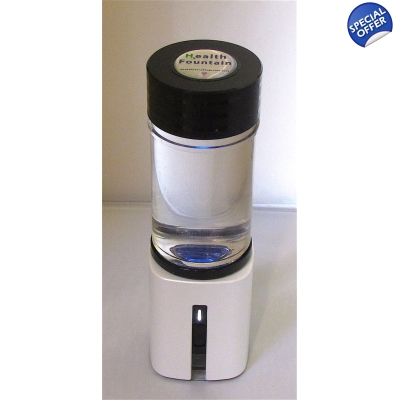 Health Fountain Portable Hydrogen Water system title=