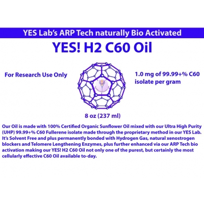 H2 C60 Oil 99.99 Pct C60 Isolate Solvent Free Fullerene title=