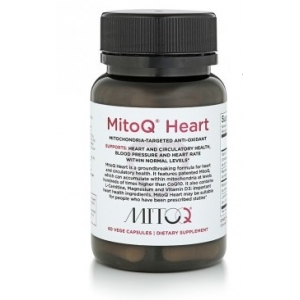 MitoQ Heart 5mg 60 Capsules - On BackO..