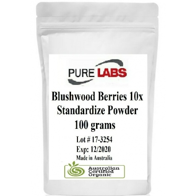 Blushwood Berry 10X Powder Standardized Hylandia Dockrilli 100g title=