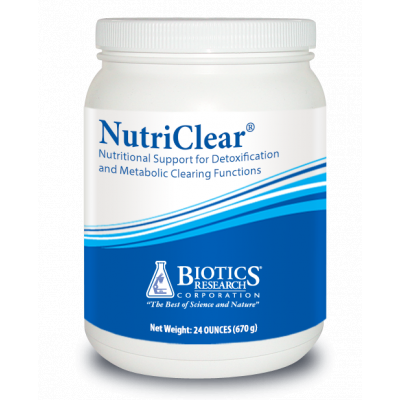 Nutriclear 24OZ Biotics Research title=
