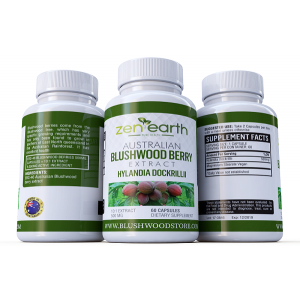 Australian Blushwood Berries extract 500mg, 60 or 30 Capsules