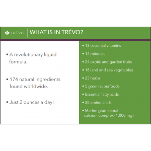 Trevo 16 ounce Bottle 174 Premium Nutraceuticals