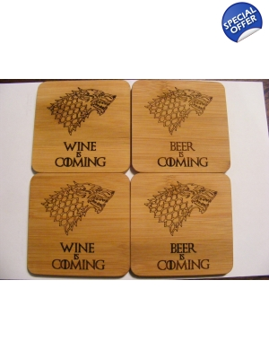 GoT Coaster Set of Four