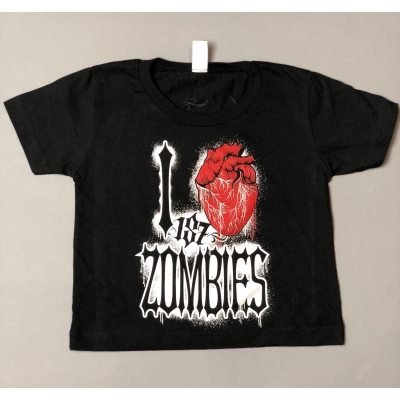 I LUV ZOMBS KIDS T-SHIRT