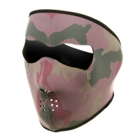 Neoprene Face Mask Pink Camo