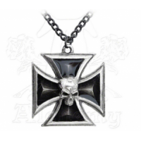 Black Knight's Cross Pendant Neck..