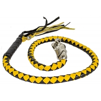 Black & Yellow Get Back Whip For ..