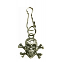 Crossbones Zipper Puller