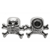 Two Chrome Skull & Cros..