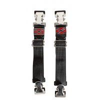 Rebel Flag Pants Boot Clips