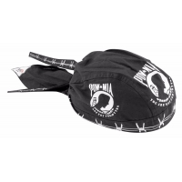 Biker Head Wrap POW/MIA Barbwire
