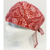 Biker Head Wrap Red Pai..