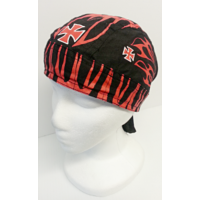Biker Head Wrap Chopper Cross Tri..