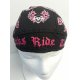 Biker Head Wrap Chicks Ride Too