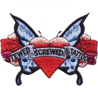 Stewed Screwed Tattooed/Heart/Ros..