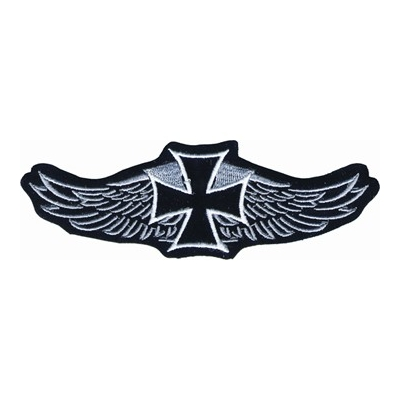 Iron Cross with Wings Patch