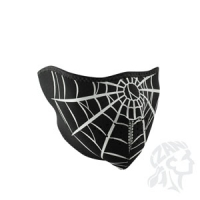 Neoprene Face Mask, Spider Web
