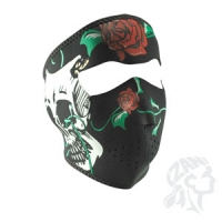 Full Mask, Neoprene Skulls & Roses