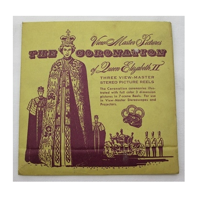 The Coronation of Queen Elizabeth II Reel Package  - No.QEPX
