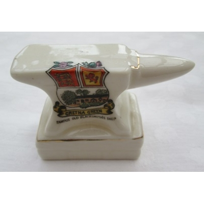 Crested China Anvil - G..
