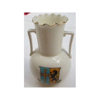 Crested China Urn - Silloth