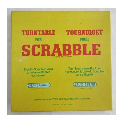 Turntable For Scrabble ..