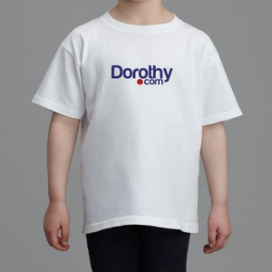 Kids' T-shirt Front and Back