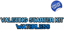 Starter Mobile Car Valeting Business Kit For Van - Waterless