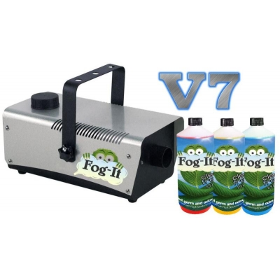 V7 Fog-It Deodorising Machine With 3 500ml Odour Agent title=