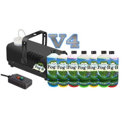 V4 Fog-It Deodorising Machine With 7 500ml Odour Agent title=