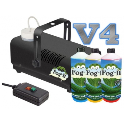 V4 Fog-It Deodorising Machine With 3 500ml Odour Agent title=