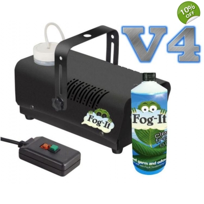 V4 Fog-It Deodorising Machine With 1 500ml Odour Agent title=