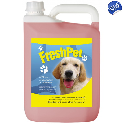 Baby Talc FreshPet Disinfectant & Deodoriser Dog Cat Avery title=