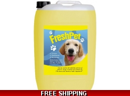 200 Litre Special - Lemon FreshPet Disinfectant & Deodoriser Dog Cat Avery