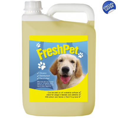 Fresh Scent FreshPet Disinfectant & Deodoriser Dog Cat Avery title=