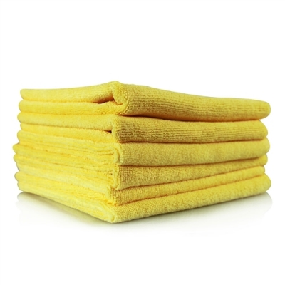 6 Pack XL Thick Microfibre Polishing Cloths title=
