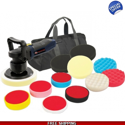 Pro DA Dual Action Car Polisher / Polishing Machine 600w - HUGE PACKAGE! title=
