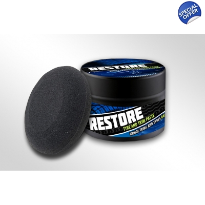 125G Restore Trim, Plastic and Rubber Paste - Specialist Detailer Dressing title=