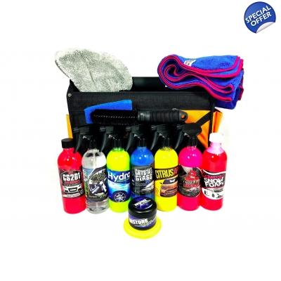 The Ultimate Detailing Starter Kit Complete With Tool Bag title=