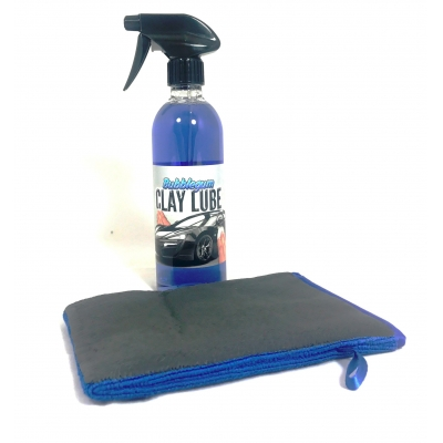 NEW Pro Clay Mitt With 500ml VP Bubblegum Clay Lube title=