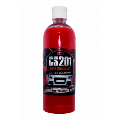 Cherry Car Shampoo With Wax - Super Concentrate 201:1 title=