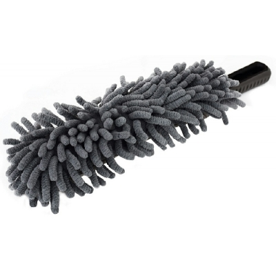 Microfibre Wheel Cleaning Brush. Soft And Safe For All Wheels title=